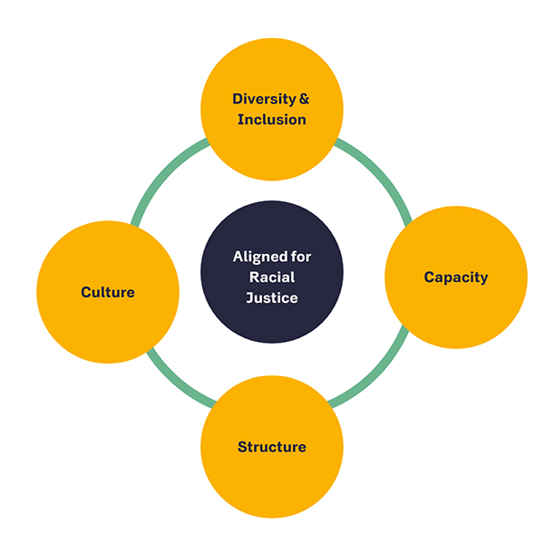 Aligned for Racial Justice: Diversity & Inclusion, Capacity, Structure, and Culture