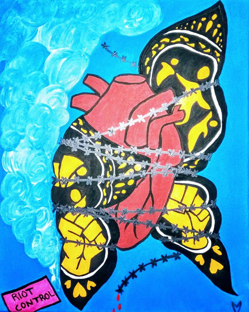 Mariposa Quebrada, by Lorilei Williams